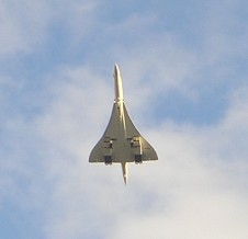 Concorde flying over Dukes Meadows on her last flight 10/2003