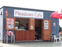 Meadows Cafe in Dukes Meadows water play area